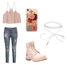 A fashion look from November 2017 featuring cropped tank top, denim jeans and waterproof shoes. Browse and shop related looks. Casetify, Timberland, Shoe Bag, Polyvore, Stuff To Buy, Shopping, Collection, Shoes, Design