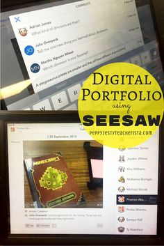 Elementary teacher looking for a classroom management idea to increase parental involvement in the classroom? Seesaw: a fantastic technology in the classroom app for sharing students work online! Parents can sign in/download the app and receive notifications when their child posts! Great digital portfolios and easy technology integration!