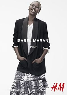 isabel marant hm campaign14 Isabel Marant for H&M Campaign with Daria Werbowy, Milla Jovovich, Alek Wek + More