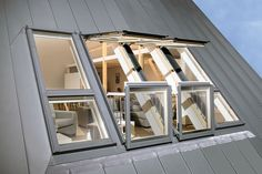 Add the WOW factor to your home! The FAKRO GALERIA balcony window is a large roof window that opens into a balcony.