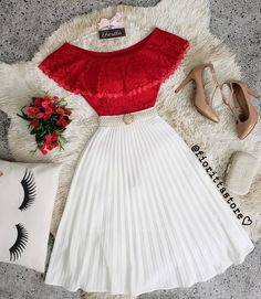 Casual Women Fashion To Update You Wardrobe Today Ensure you keep stylish. Let's have a glance w Teen Fashion Outfits, Classy Outfits, Cute Fashion, Pretty Outfits, Pretty Dresses, Stylish Outfits, Fashion Dresses, Jw Moda, Skirt Outfits