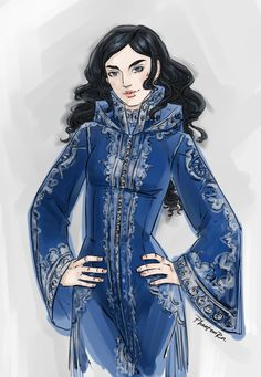 phantomrin: Zoya (Grisha trilogy by Leigh Bardugo) Haven't posted this because the outfit still needs more thought. Well, anyway) Zoyaaaaaa!!! This is pretty much exactly how I pictured her.