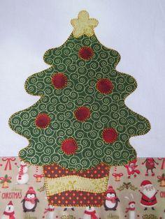 Pano De Prato árvore de natal
