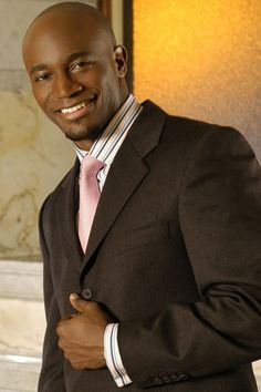 they don't come much better than taye diggs