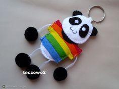 Fotoblog teczowo.flog.pl. - Panda na wakacjach :). Wykonana wg wzoru klientki :)...