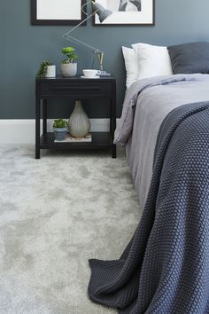 Ideal for relaxing and cosy spaces, in particular the living room or bedroom, su. Ideal for relaxing and cosy spaces, in particular the living room or bedroom, su. Grey Carpet Bedroom, Living Room Carpet, Living Room Grey, Gray Carpet, Cosy Grey Bedroom, Brown Carpet, Grey Flooring, Bedroom Flooring, Carpet Flooring