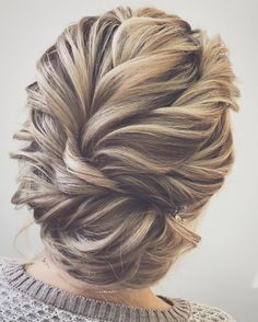 Beautiful updo with braid wedding hairstyle inspiration #weddinghair #hairideas #updobraid #upstyle #braid #hairstyles