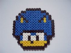 SonicShroom hama beads by jaffacake940 on deviantART