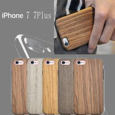 Fashion Natural wood &TPU Newest Protective Case Cover For Apple iphone 7 7Plus | eBay