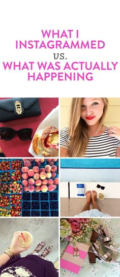 What's really going on in the 11 most common Instagram photos