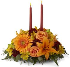 ftd & teleflora fall arrangements | ... > FTD® Flowers > FTD® Fall Flowers > Bright Autumn Centerpiece #12... Goldberry's Florist & Gifts   81 Old Trolley Rd, Summerville, SC 29485  Toll Free: 800-392-9333