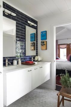 Master Bathroom Pictures From HGTV Urban Oasis 2015 | HGTV Urban Oasis Sweepstakes | HGTV