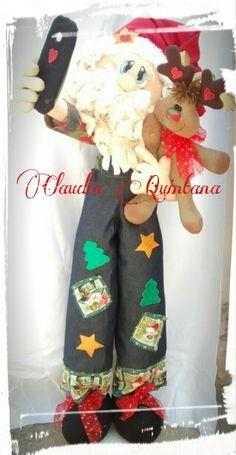 Navidad Christmas Is Coming, Xmas, Christmas Fabric, Fabric Decor, Gingerbread, Decoupage, Diy And Crafts, Sewing Projects, Santa