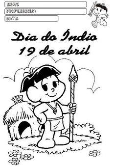 Educação infantil facil: dia do ìndio