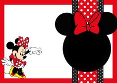 Mickey Mouse Invitation Template Free Best Of Minnie Mouse Invitation Template Free Templates Minnie Mouse Stickers, Red Minnie Mouse, Mickey Minnie Mouse, Mickey Mouse Birthday Invitations, Minnie Birthday, Birthday Card Template, Birthday Cards, Birthday Clipart, Disney Scrapbook