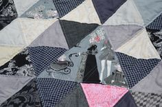 Triangle #Quilt Along: Week 5 | Mouse in my Pocket