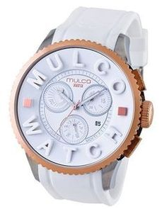 MULCO white Chronograph MWatch 3D Collection MW3-10302-013