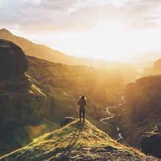 Sun shower | Thórsmörk Iceland | Johan Lolos Say Yes To Adventure