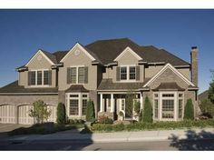 Eplans New American House Plan - Four Bedroom New American - 5279 Square Feet and 4 Bedrooms from Eplans - House Plan Code HWEPL65865