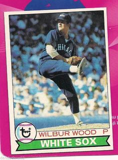 1979 Topps Wilbur Wood Card