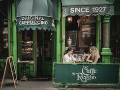 Caffe Rggio is the first caffe in the US to serve Cappuccino.It's in Greenwich Village, NYC