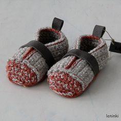 Booties Made for Walking  Toddler U.S. sizes 313 by leninka, $39.00