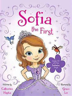 Sofia the First Book and CD... kids love this new cartoon