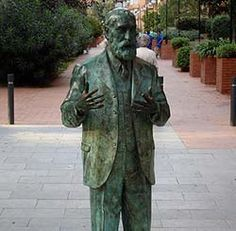 Gaudí himself in Barcelona