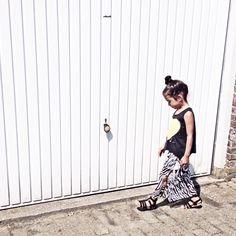 Maxi skirt ~ kids fashion