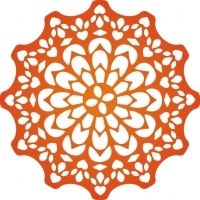 """Canadian Kaleidoscope Doily - $19.95 The Canadian Kaleidoscope Doily Die from Cheery Lynn Designs is a delicately detailed doily which will allow you to cut a beautiful addition to any card or scrapbook page!   The manufacturer recommends the Cuttlehug to be used in the sandwich in your die cutting machine to get a better cut with this intricately detailed die.Approximately 4.5"""" x 4.5"""""""