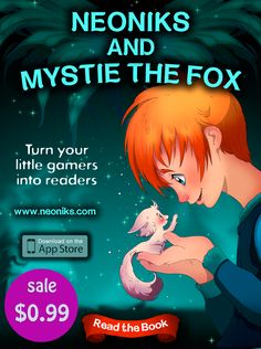 """Cheaper than a cup of Coffee!  That's right! For three (3) days ONLY you can get the full version of our beautifully illustrated chapter book and magic world encylopedia """"Neoniks and Mystie the Fox"""" for cheaper then a cup of coffee!  That's 85% OFF the normal price!  Don't delay a second, click on this link and enjoy the gorgeous magical world!"""