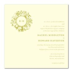 invites - wedding paper divas