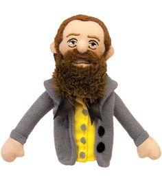Herman Melville Finger Puppet