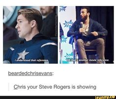 Find images and videos about funny, Marvel and chris evans on We Heart It - the app to get lost in what you love. Funny Marvel Memes, Dc Memes, Avengers Memes, Marvel Jokes, Marvel Dc Comics, Marvel Avengers, Funny Memes, Avengers Cast, Sebastin Stan
