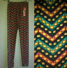 HOT KISS WOMEN'S LEGGINGS-NWT-TRIBAL AZTEC PRINT SUPER SOFT TIGHT YOGA PANTS in Leggings | eBay