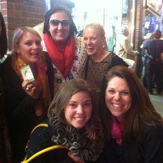 "Via @Connie Wood - ""We are eating sour cream and onion CRICKETS while meeting Elvis in Nashville"" #leadingandlovingit #GNOchallenge"