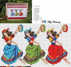Designed and stitched by Filiz Türkocağı. Beaded Cross Stitch, Cross Stitch Baby, Cross Stitch Kits, Cross Stitch Charts, Cross Stitch Embroidery, Cross Stitch Patterns, Alpha Patterns, Loom Patterns, Cross Stitch Numbers