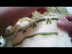 sofia torres shared a video Tunisian Crochet, Crochet Stitches, Knit Crochet, Crochet Patterns, Crochet Videos, Toddler Dress, Crochet Crafts, Diy And Crafts, Knitting