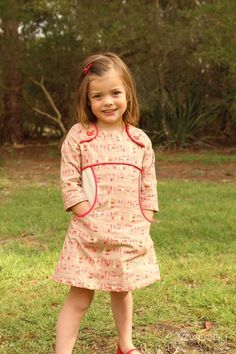 Image of MISS POLLY DRESS PATTERN (ENGLISH)