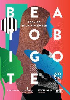 Beato Bigote 是一个有独立音乐,艺术和设计组合的节日。设计师来自意大利的KAE.