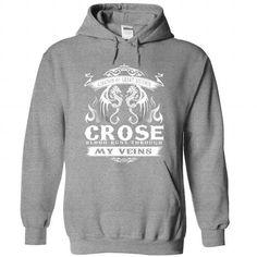 nice CROSE Name Tshirt - TEAM CROSE, LIFETIME MEMBER