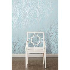 I Love Wallpaper™ Shimmer Wallpaper Teal / Silver