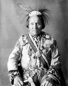 Iroquois Indian Chief. No other information...