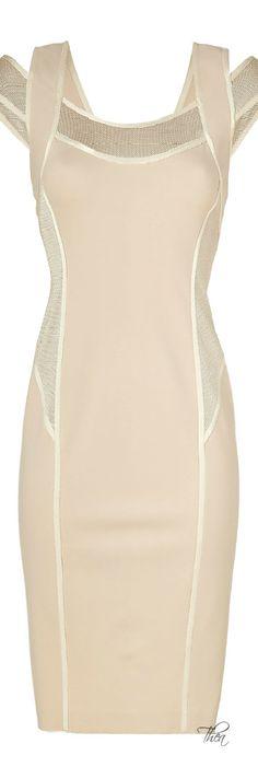 Donna Karan Blush ● Stretch Sheath Dress