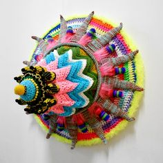 Sam Jaffe, knit sculptures