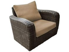 Club Chair, Wicker Arm Chair, Wicker Furniture, Outdoor Furniture, Cushion Seating Perfect for any outdoor setting, the Acapulco line features all weather wicker to give any area a high quality yet engaging seating option. Patio Lounge Chairs, Patio Seating, Club Chairs, Sunbrella Outdoor Cushions, Seat Cushions, Outdoor Chairs, Wicker Furniture, Outdoor Furniture, Modern Furniture