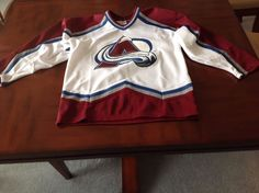Colorado Avalanche NHL Hockey Jersey - Youth Large #CCM #ColoradoAvalanche