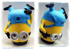 Breakdancing Minion Cake by Pauline Bakes the Cake, Petaling Jaya, Malaysia. You'll find this Cake Appreciation Society Member in our Directory at www.cakeappreciationsociety.com