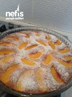 10 I Puding Dolgulu Kek Ideas Punch Bowl Cake, Cranberry Chutney, Peach Cake, Coconut Macaroons, Cream Cake, Chocolate Cake, Yummy Food, Delicious Recipes, Food And Drink
