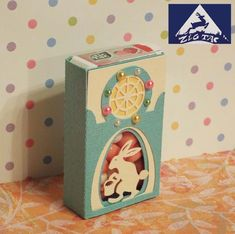 FREE SVG STUDIO PDF 3D DIY Easter bunny tic tac box ZIGTAC: free download